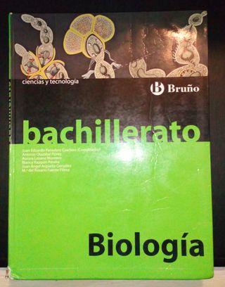 Libro de Biología Bachillerato Bruño