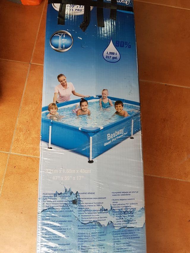 piscina plástico desmontable