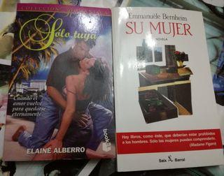 Novelas románticas.