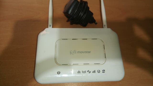 Router movistar zte zxhn h108n de segunda mano por 10 € en Bilbao en