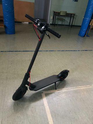 patinete electrico con rueda anti pinchazo