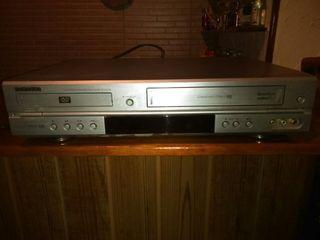 Samsung DVD y VHS 2x1