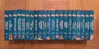 Colección videos Tintín