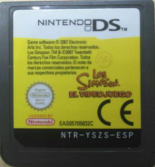 Juego DS - Los Simpson