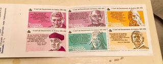 Cartera 6 sellos 5 centenario