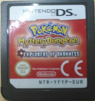 Juego DS - Pokemon Mundo Misterioso Expl. Oscurida