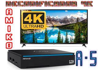 Amiko A5 4K-UHD 100% ¡¡¡Nuevo!!!