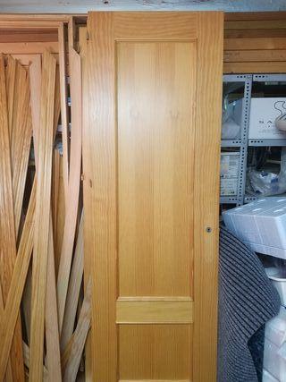 puertas de paso de madera madera