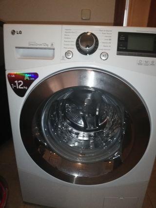 lavadora lg direct drive 12 kg nueva