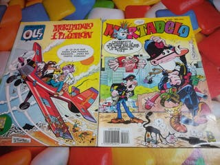 2 comics de Mortadelo y Filemón.