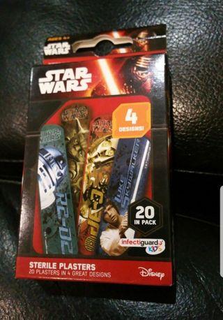 brand new star wars plasters