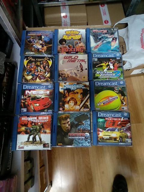 Lote De 12 Juegos Para Sega Dreamcast De Segunda Mano Por 90 En