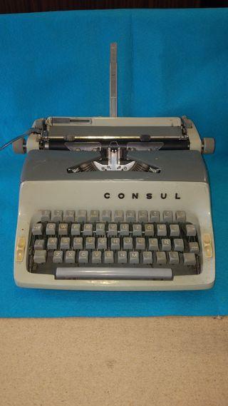 Máquina de escribir CONSUL