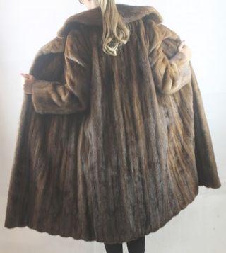 Abrigo de visón lujo