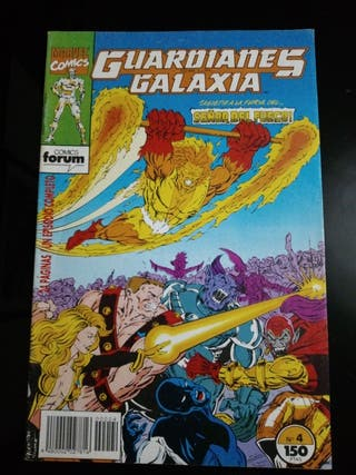 MARVEL COMICS GUARDIANES DE LA GALAXIA N. 4