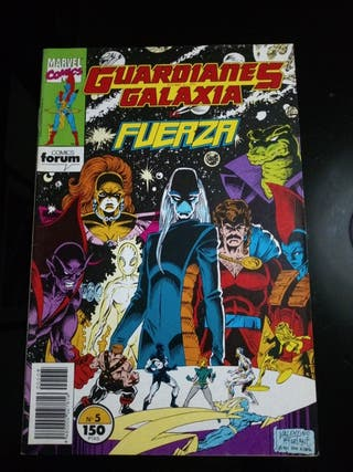 MARVEL COMICS GUARDIANES DE LA GALAXIA N5