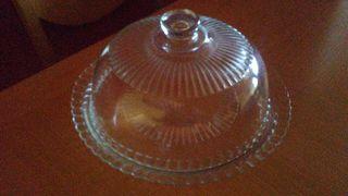 quesera de cristal