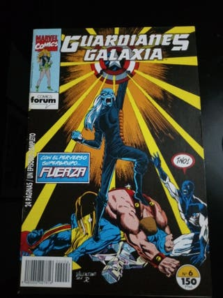 MARVEL COMICS GUARDIANES DE LA GALAXIA N. 6