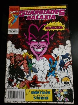 MARVEL COMICS GUARDIANES DE LA GALAXIA N. 7