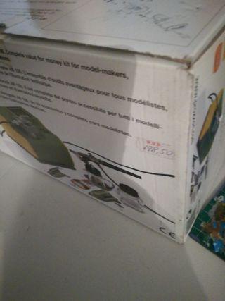 aerografo con compresor