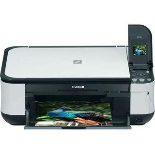 canon mp480 impresora multifunción+papel de foto