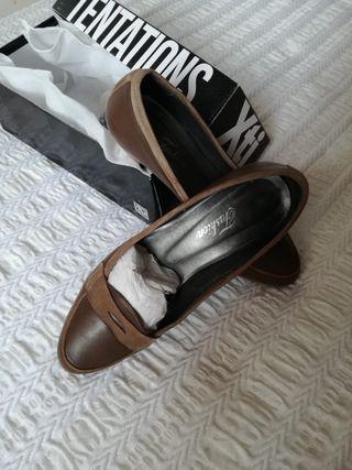 Zapatos piel y ante