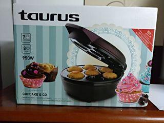 Taurus maquina para hacer cupcakes