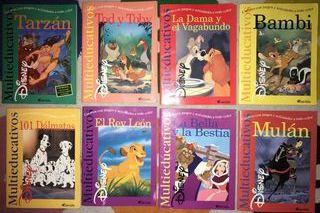 Colección de 8 libros multieducativos Disney