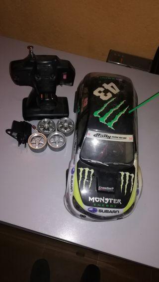 coche radio control electrico