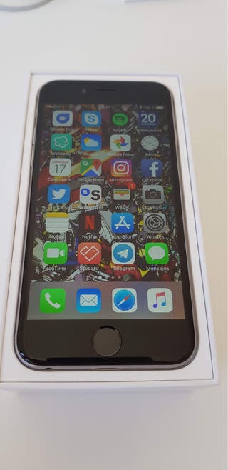 iPhone 6s 32GB con garantía perfecto estado