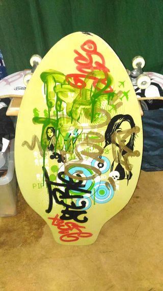tabla de skimboarding
