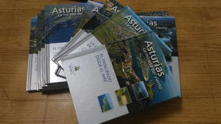 Colección de libros de Asturias.