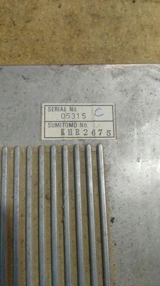 Centralita CASE CX210