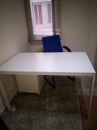 Mesa despacho ikea de segunda mano en wallapop - Mesa despacho ikea ...