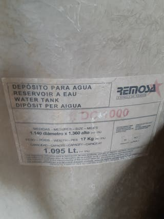 deposito agua 1000