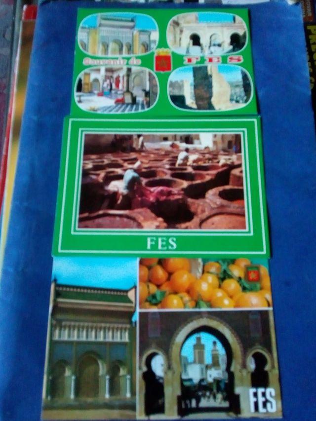 postales de Marruecos