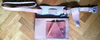 Cinturón de Herramientas de Cuero - Nuevo