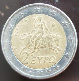 Moneda de dos euros griega