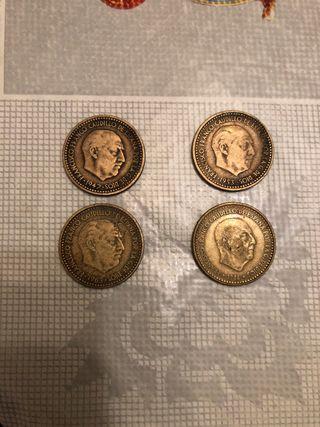 Monedas de 1 peseta