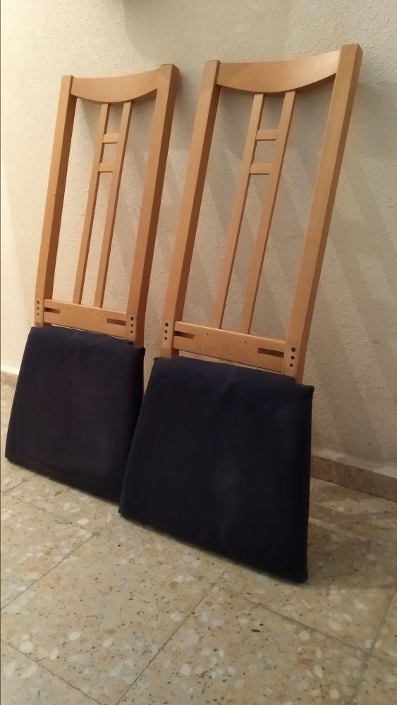 4 sillas comedor Ikea de segunda mano por 45 € en Madrid en WALLAPOP
