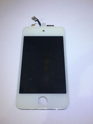 Pantalla completa apple iPod 4 blanca