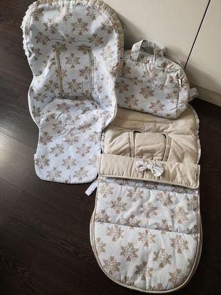Saco de invierno, verano y bolso de bugaboo