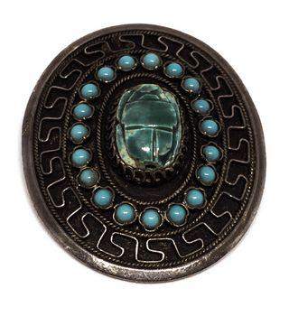 Egiptian Revival Brooch Pendant