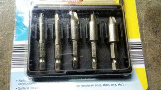 extractores tornillos con cabeza corrida