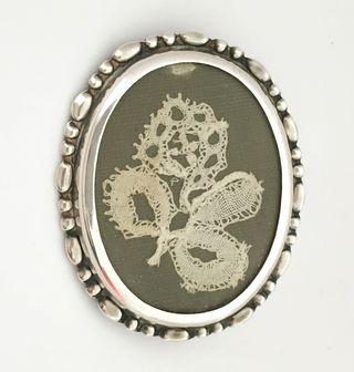 A sweetheart brooch