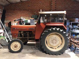 Tractor Barreiros 5055 y cultivadores