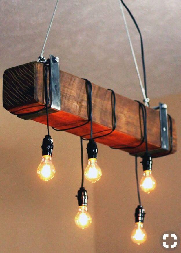 Iluminaci n personalizada estilo industrial de segunda - Iluminacion estilo industrial ...