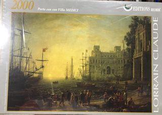 Puzzle Porto con villa Medici
