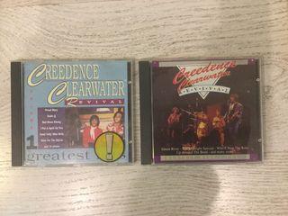 Lote Creedence Clearwater Revival exitos Vol 1 y 2