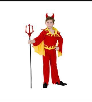 Disfraz de demonio para niño.
